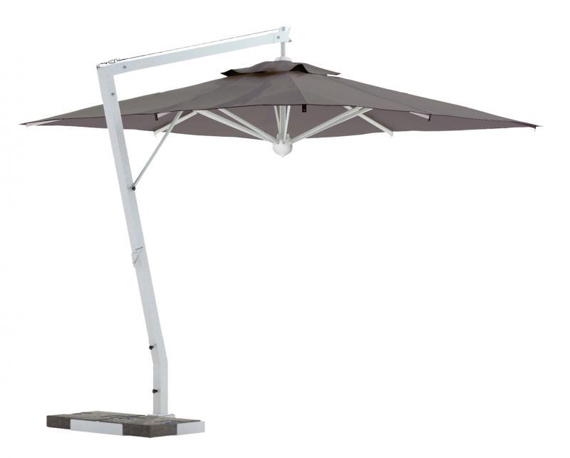 parasol d port de terrasse grand parasol de luxe excentrt haut de gamme. Black Bedroom Furniture Sets. Home Design Ideas