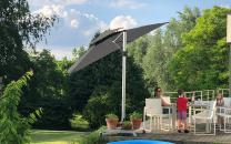 Fratello pro parasol deporte inclinable