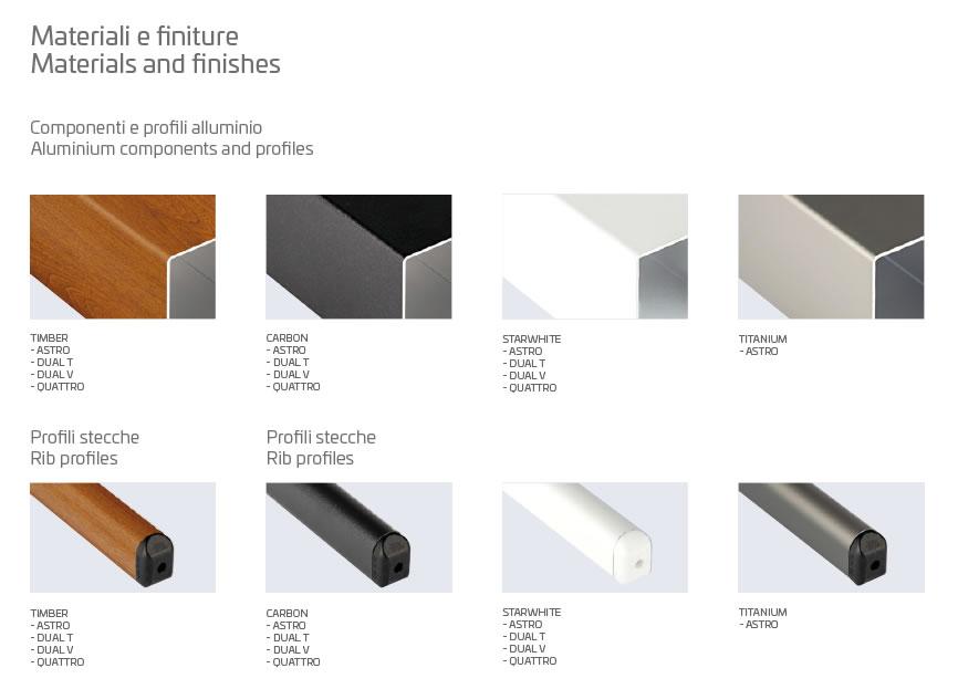 parasol déporté haut de gamme aluminium blanc titane noir bois