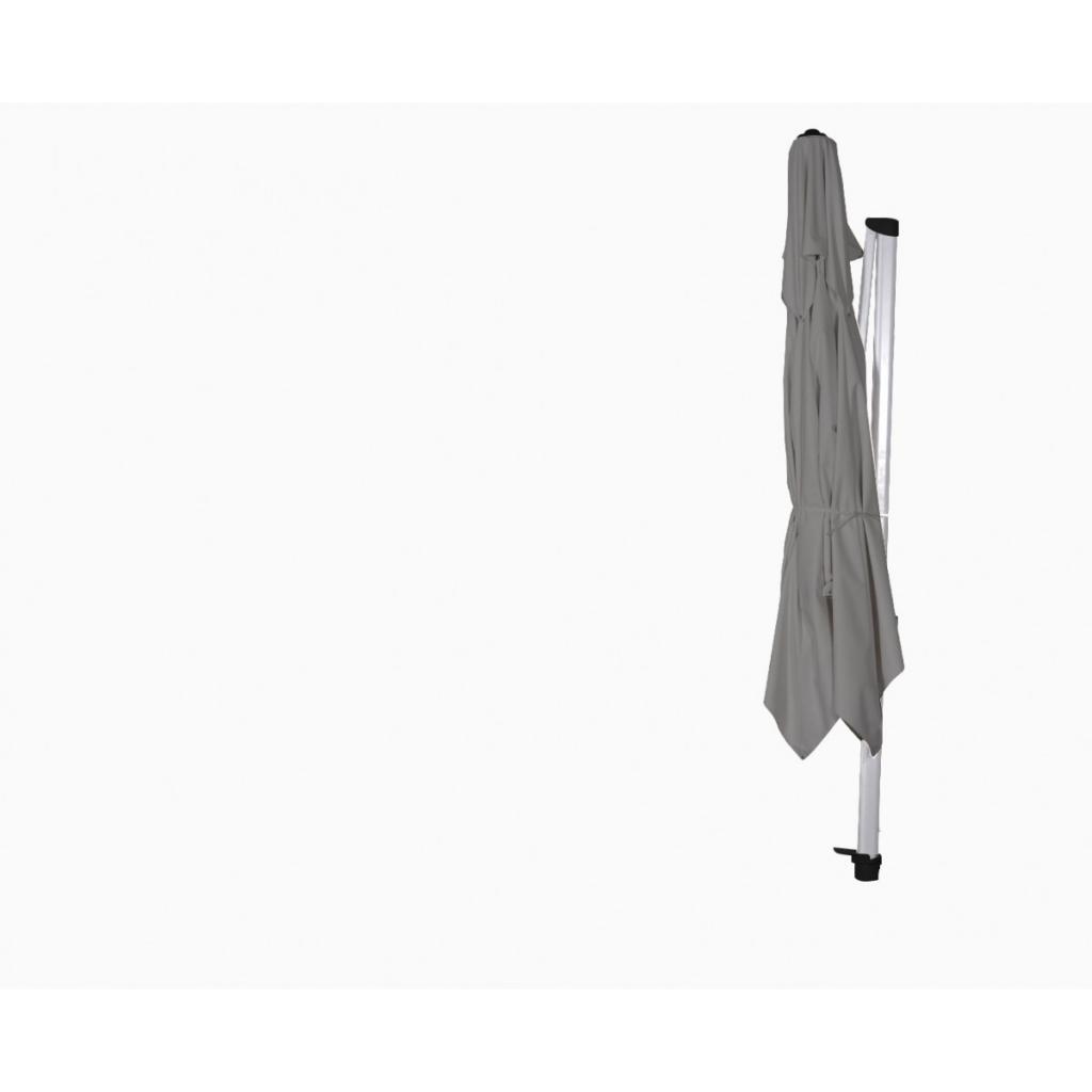 Beau parasol de jardin déporté Laterna Pro SOLERO