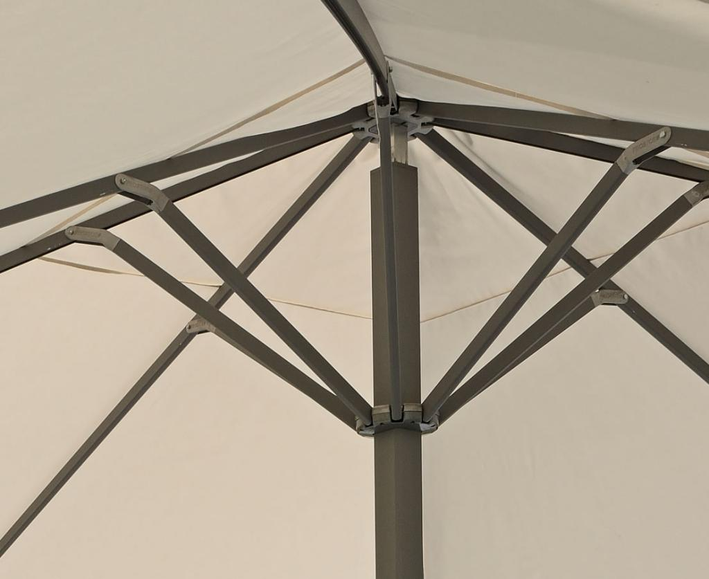 Armature parasol prostor p8