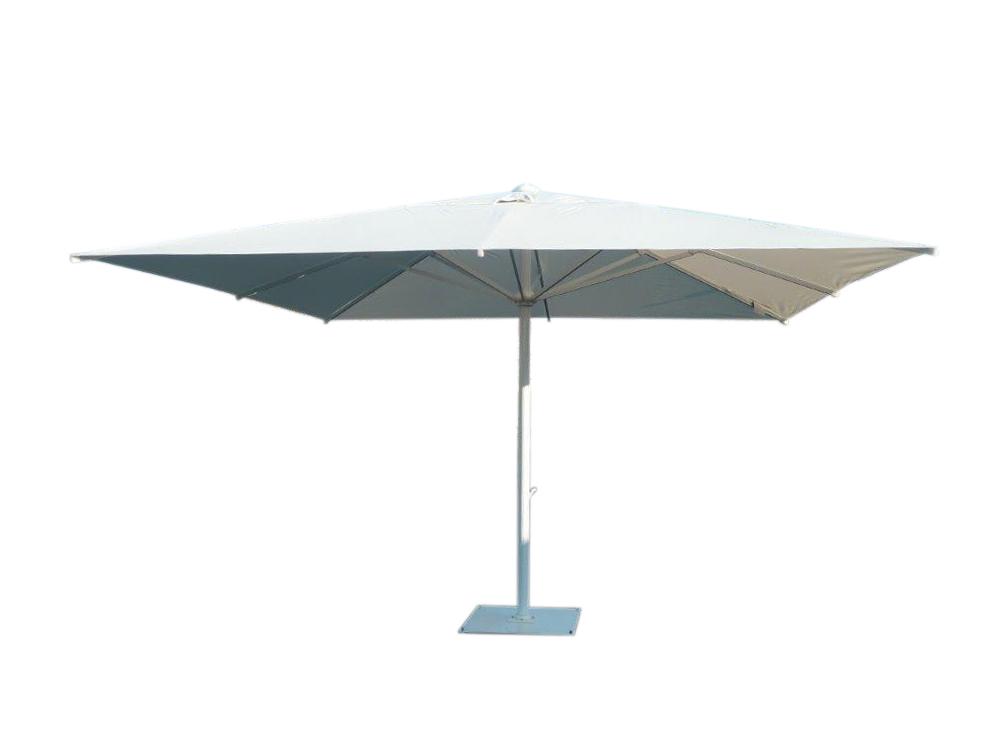 maxisoco grand parasol mat central alu jardin et terrasse. Black Bedroom Furniture Sets. Home Design Ideas