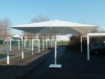 parasol grande taille restaurant professionnel chr