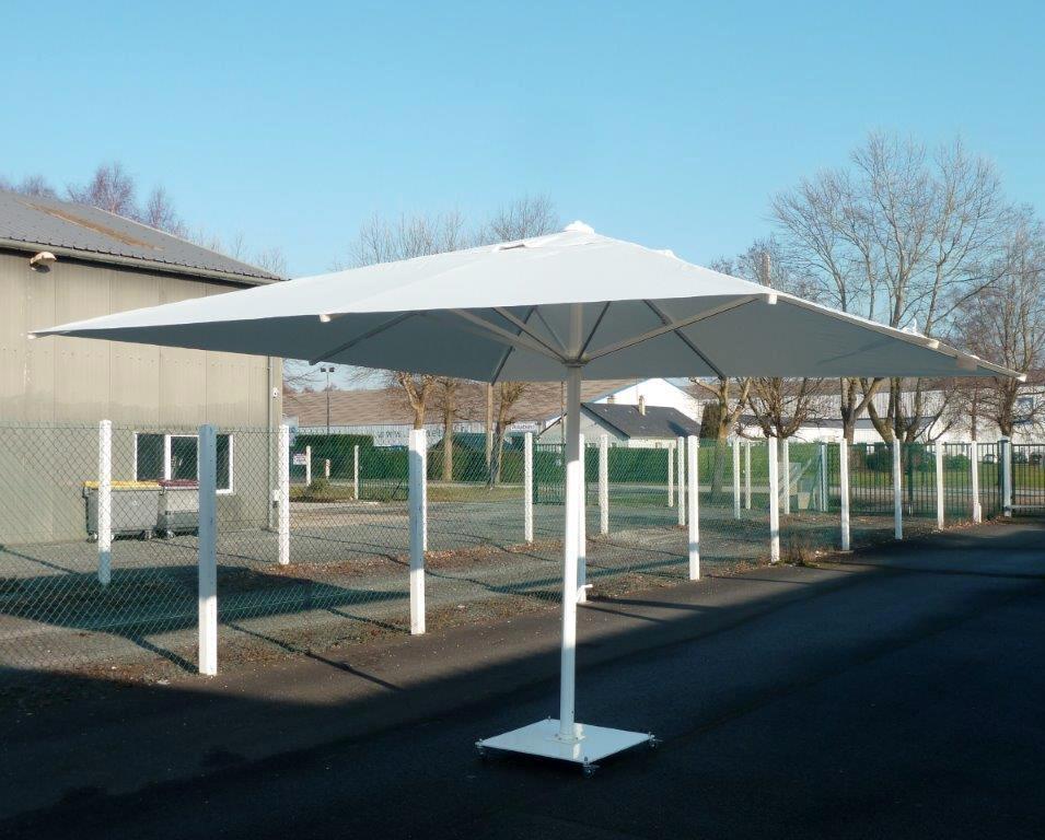 Grand Vent Fort Parasol Maxisoco V Pour Terrasse Restaurant Hotel  Entreprise With Grand Parasol De Jardin