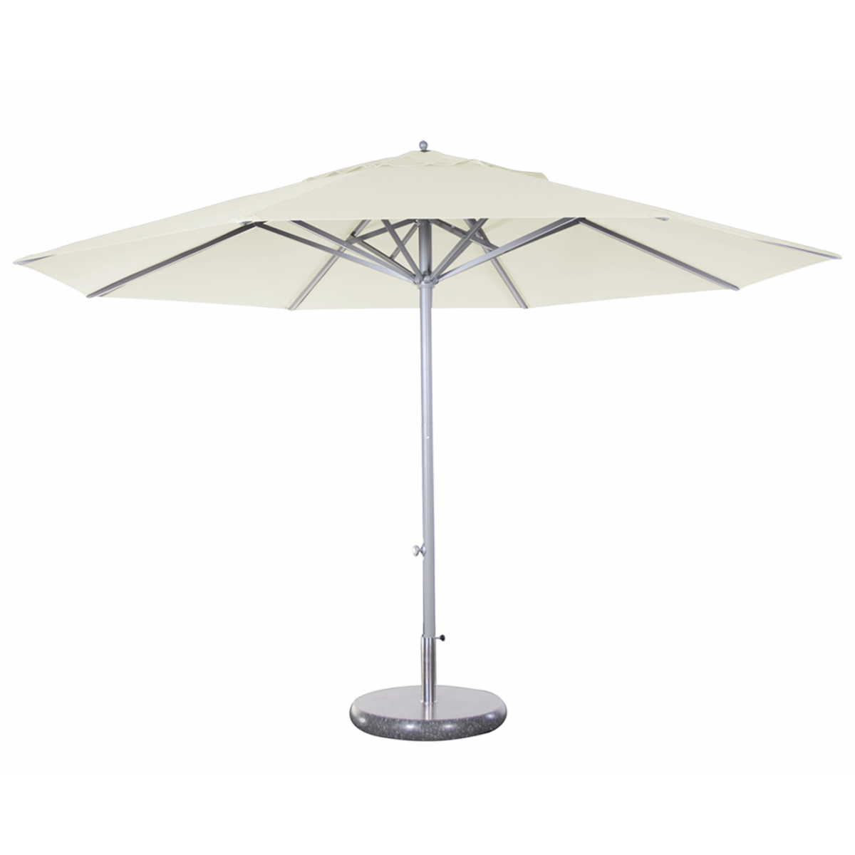 Parasol presto solero m t central ouverture facile en for Grand parasol de terrasse