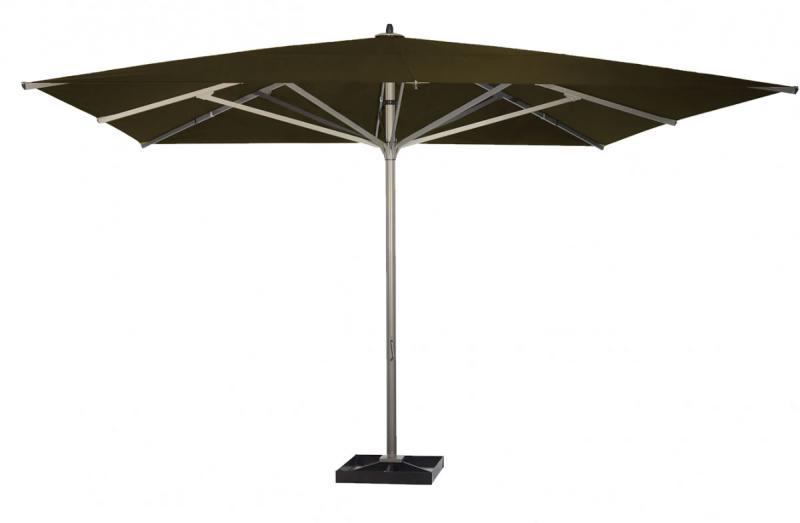 parasol coloris taupe 4x4m 5x5m