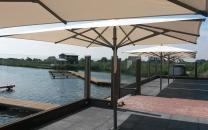 parasol solero basto terrasse restaurant