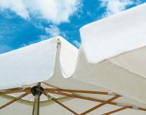 Parasol aluminium toile acrylique Alu Poker Scolaro SCOLARO