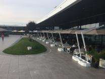 Parasol terrasse maison moderne Rimini Braccio SCOLARO