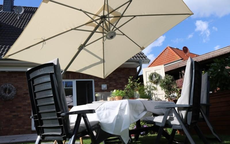 Cielo plus parasol incliné soleil bas