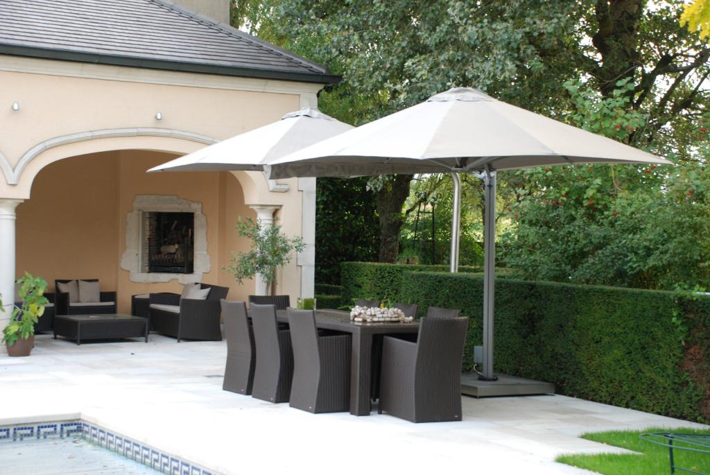 Quadruple parasol pour restaurant Prostor P6 PROSTOR